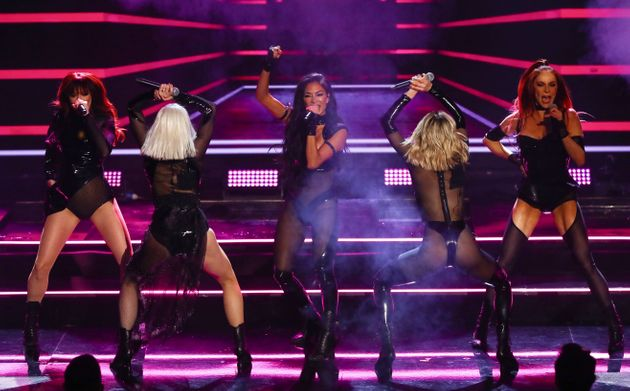 The Pussycat Dolls performed for the first time in 10 years on The X Factor: