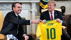 Trump anuncia taxação de metais brasileiros e Bolsonaro diz que ligará para ele 'se for o