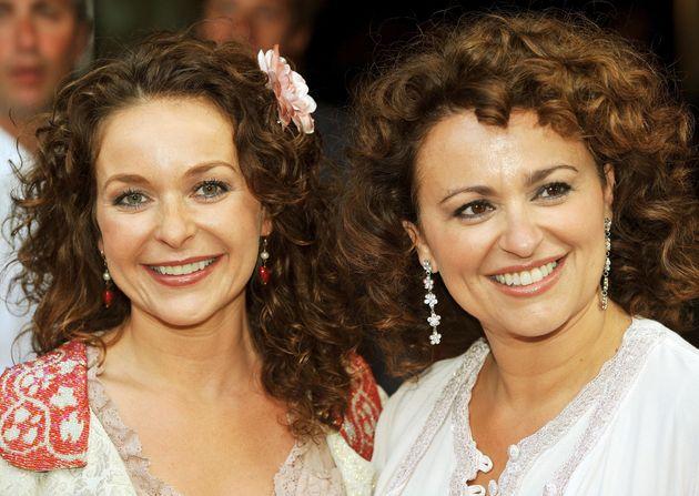 Julia (left) and Nadia