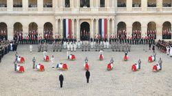 L'hommage de Macron aux soldats morts au Mali: