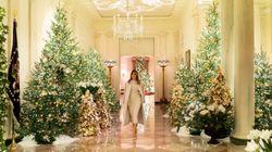Η Μελάνια Τραμπ στόλισε τον Λευκό Οίκο για τα Χριστούγεννα με το «αμερικανικό