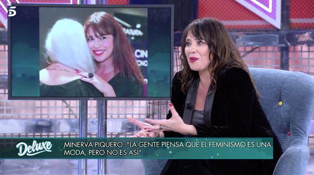 Minerva Piquero en 'Sábado