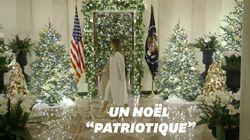 À la Maison Blanche, Noël se pare des couleurs du