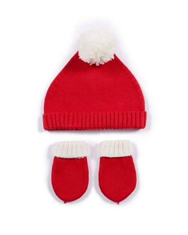 Santa Hat & Mitts