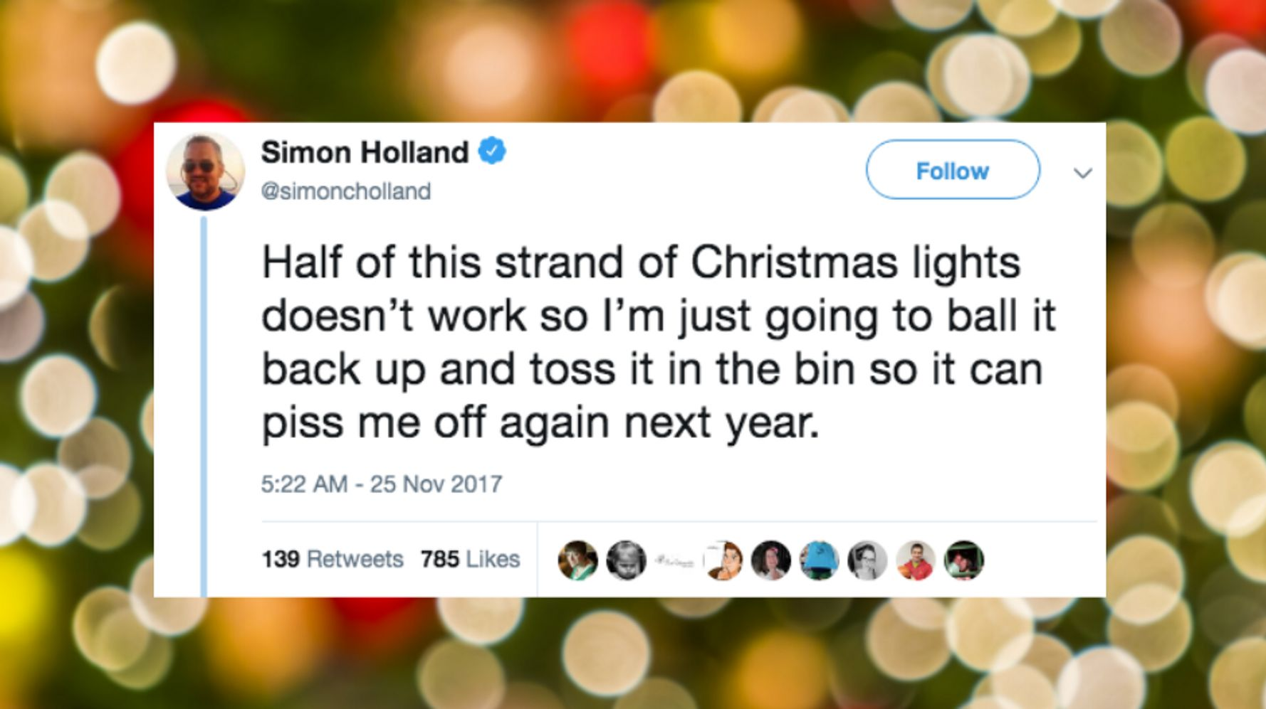 50 Funny Tweets About Decorating For The Holidays