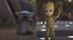 Baby Yoda ou Baby Groot, lequel prendriez-vous dans votre