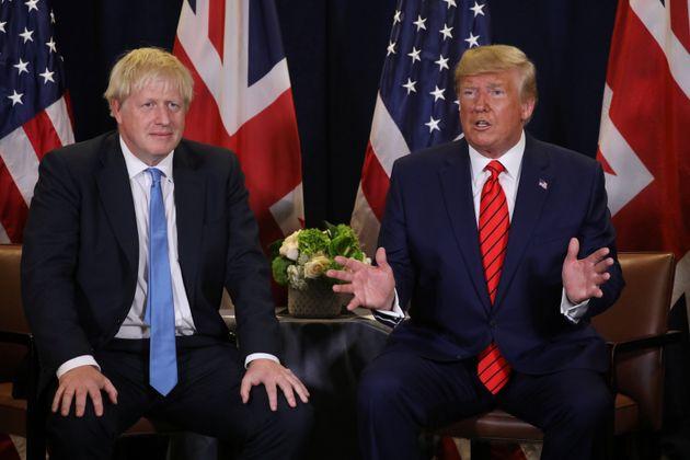 Boris Johnson et Donald