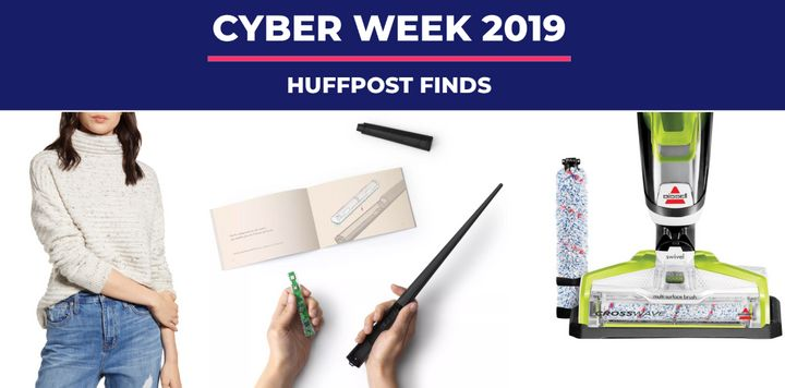 "We were curious about what HuffPost readers are buying this time around for Cyber Monday. Some readers are looking to upgrade their beds with an&nbsp;<a href=""https://fave.co/2q896SC"" target=""_blank"" rel=""noopener noreferrer"" data-ylk=""subsec:paragraph;itc:0;cpos:8;pos:1;elm:context_link"" data-rapid_p=""8"" data-v9y=""1"">Allswell mattress topper</a>, while others are making room in their kitchens for a&nbsp;<a href=""https://fave.co/2RisPd8"" target=""_blank"" rel=""noopener noreferrer"" data-ylk=""subsec:paragraph;itc:0;cpos:8;pos:2;elm:context_link"" data-rapid_p=""9"" data-v9y=""1"">sparking water maker from Target</a>."