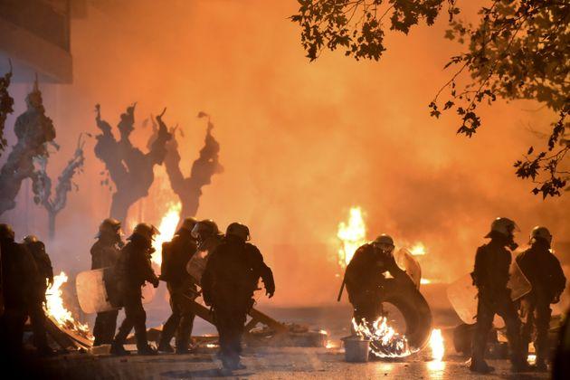 Επέτειος Γρηγορόπουλου: Φόβοι ΕΛ.ΑΣ. για επιθέσεις εκτός