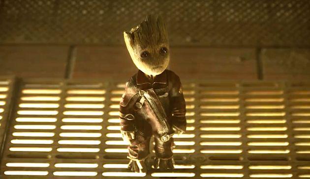 Baby Groot et son regard triste attendrissent le public de