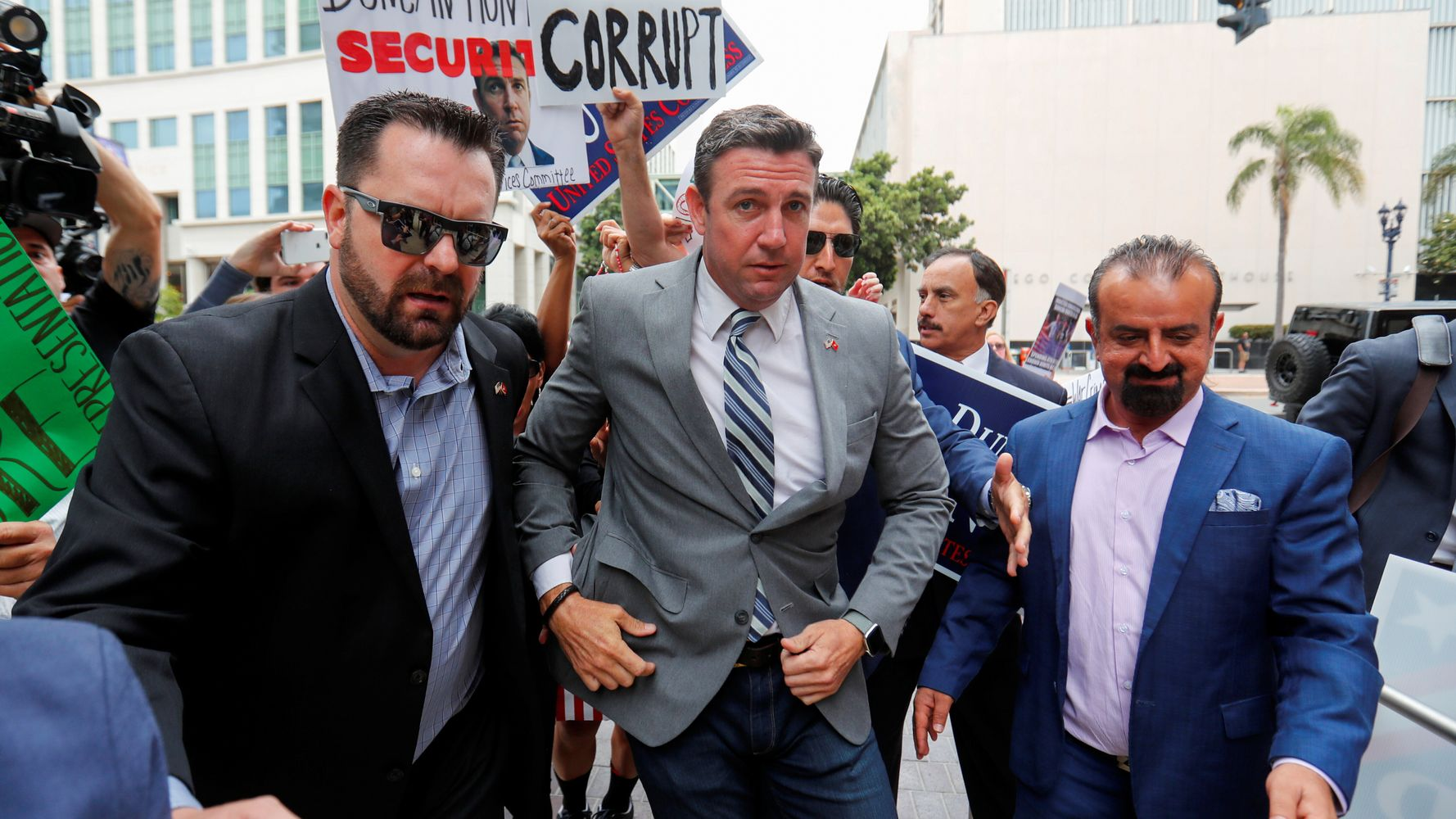 Duncan Hunter To Plead Guilty In Campaign Finance Case He Called 'Witch Hunt'