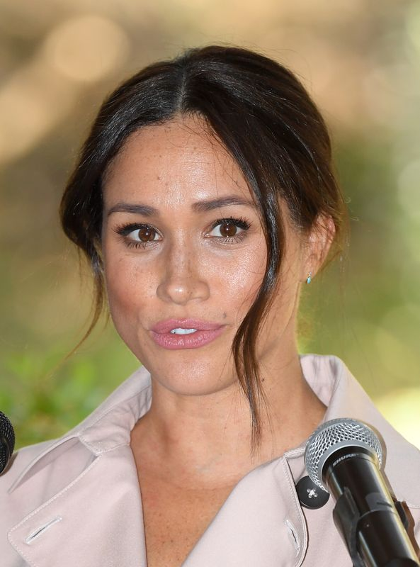 Meghan Markle, Duchess of Sussex during the royal tour to South Africa on Oct. 2.