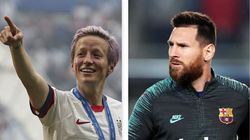 Pallone d'oro 2019: vincono Lionel Messi e Megan