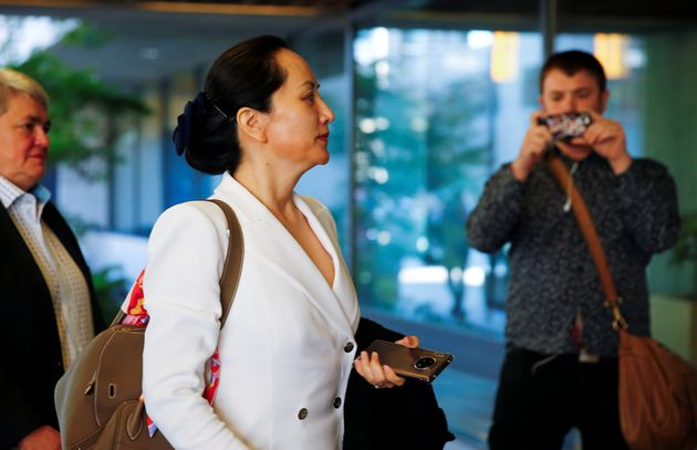 Huawei Technologies chief financial officer Meng Wanzhou returns to a British Columbia courtroom after...