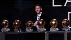 Lionel Messi remporte le Ballon d'Or