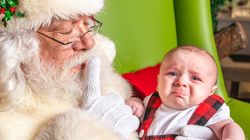 Santa Photo Fails From Babies Just So Over