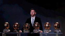 Leo Messi gana su sexto Balón de