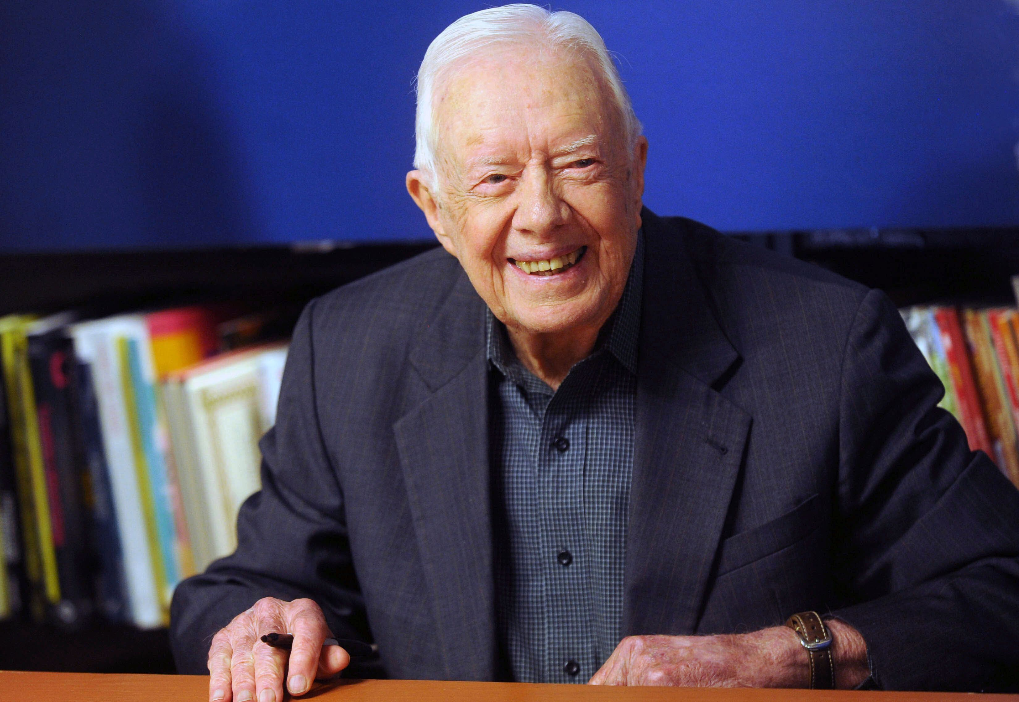 Jimmy Carter Back In The Hospital ...