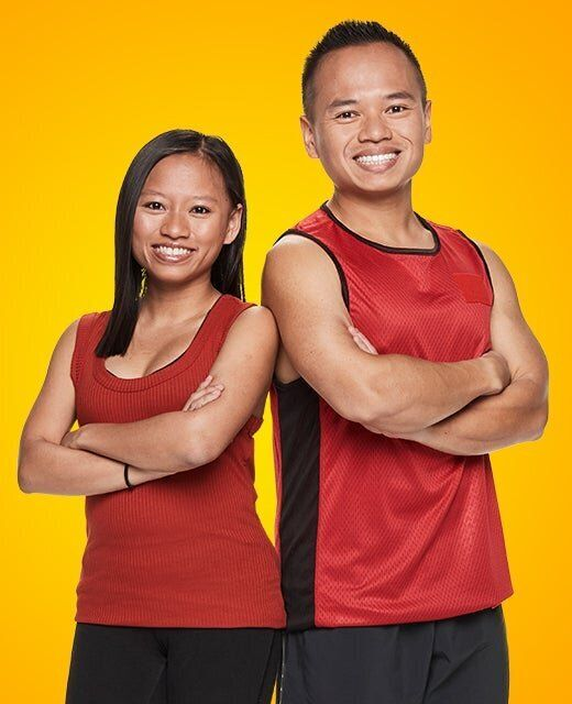 Melbourne-based siblings Viv and Joey Dinh are in the Amazing Race Australia grand