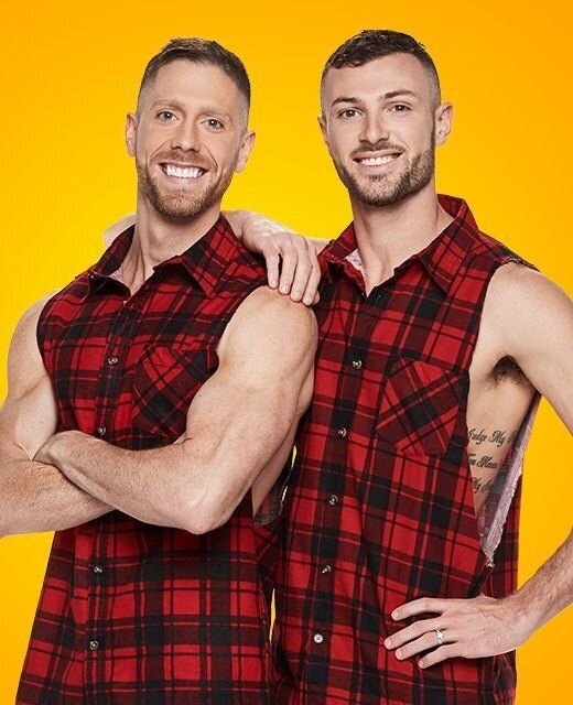 The Amazing Race Australia grand final contestants, NSW newlyweds Tim Sattler and Rod Jones.