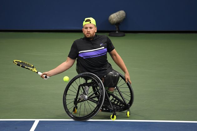 Dylan Alcott of Australia pictured in September