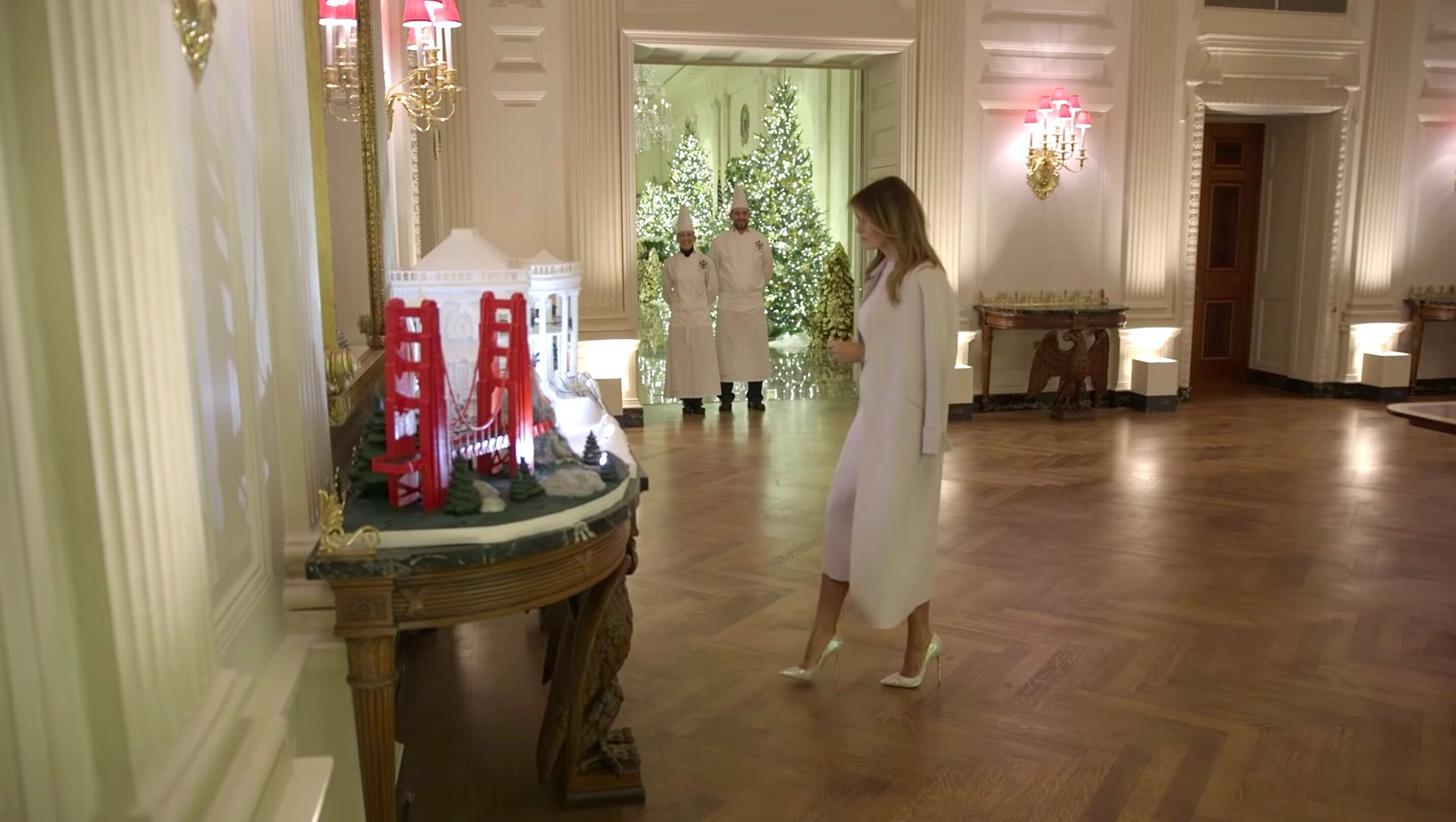 Melania Trump's White House Christmas ...