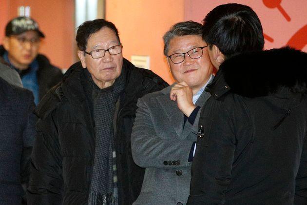 박근혜가 병원에서 다시 구치소로 돌아갔다