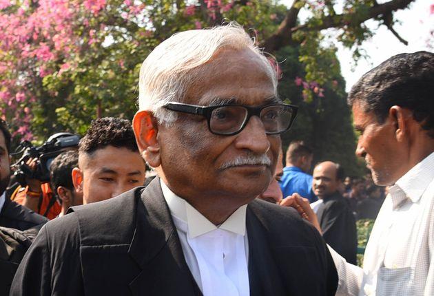 Rajeev Dhavan in a file