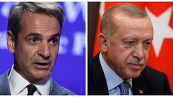 Συνάντηση Ερντογάν- Μητσοτάκη στο