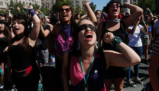 'A Rapist In Your Way': The Viral Chilean Feminist Anthem You Need To