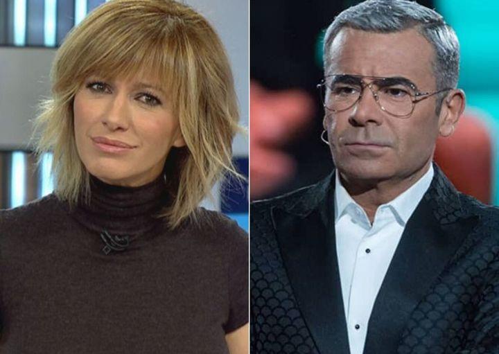 Susanna Griso y Jorge Javier Vázquez, presentadores de 'Espejo Público' (Antena 3) y 'GH' (Telecinco).