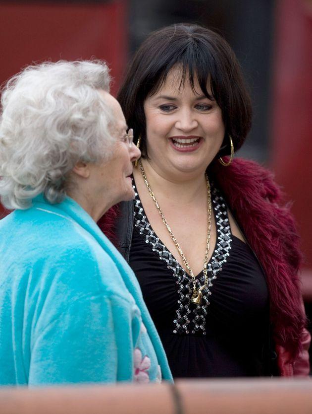 Ruth Jones plays Nessa in the BBC