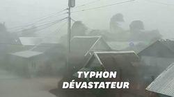 Les images du typhon Kammuri qui a balayé les