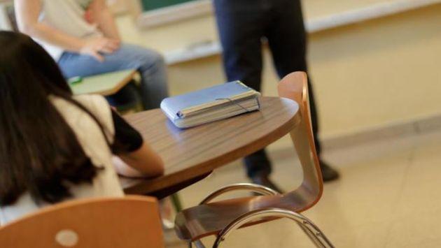 Imagen de archivo de un aula en