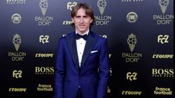 La indirecta muy directa de Luka Modric a Cristiano Ronaldo en la gala del Balón de
