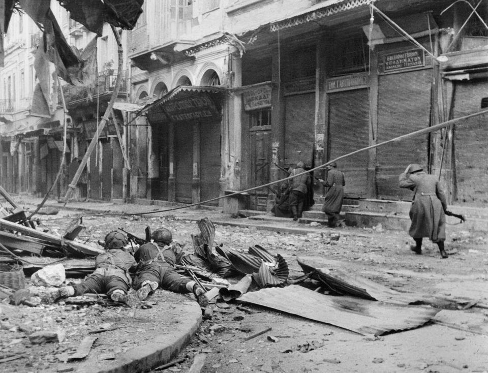 Δεκεμβριανά 1944: χώροι διασκέδασης που υπήρξαν πεδία