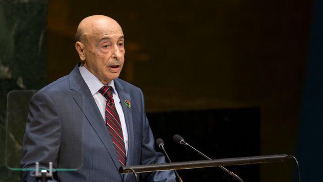 O πρόεδρος της λιβυκής...