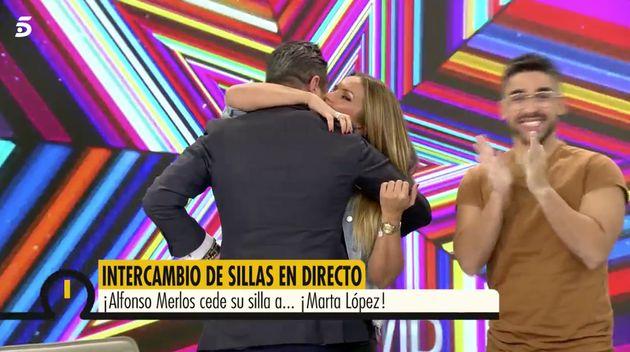 Marta López y Alfonso Merlos, en 'Ya es