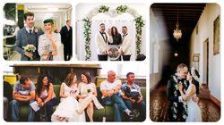 裁判所で結婚式を挙げるのも悪くない。裁判所婚した25組のカップル(画像集)