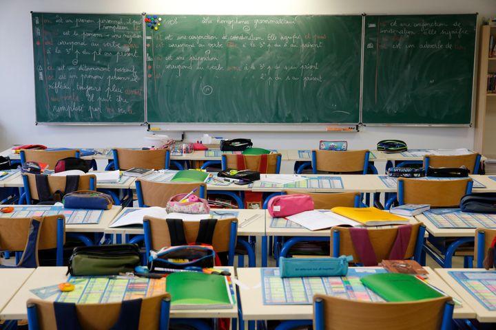 Jeudi 5 décembre, presque une école sur deux sera fermée à cause de la grève. (photo d'illustration)