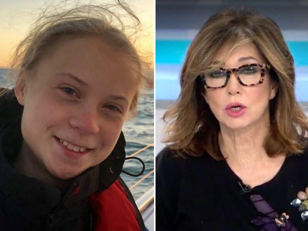 Greta Thunberg y Ana Rosa