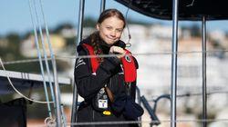 Greta Thunberg llega a Lisboa, escala previa a la Cumbre del Clima de