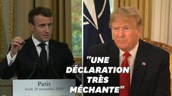 Macron s'est montré