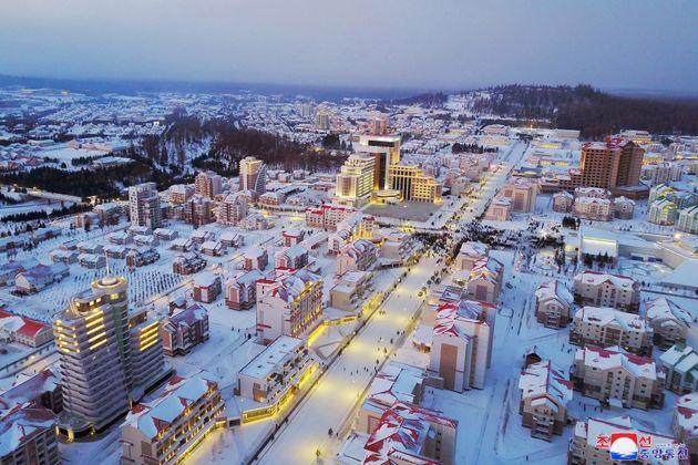 La nueva ciudad que ha inaugurado este martes Kim