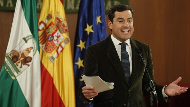 El presidente de la Junta de Andalucía, Juanma