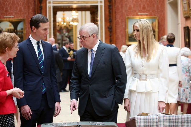 Prince Andrew also met with other members of the Trump administration during the president's state visit,...