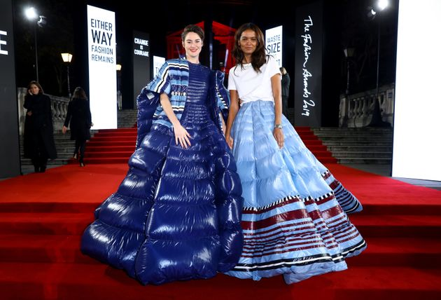 Woodley and Liya Kebede both wore Moncler to the