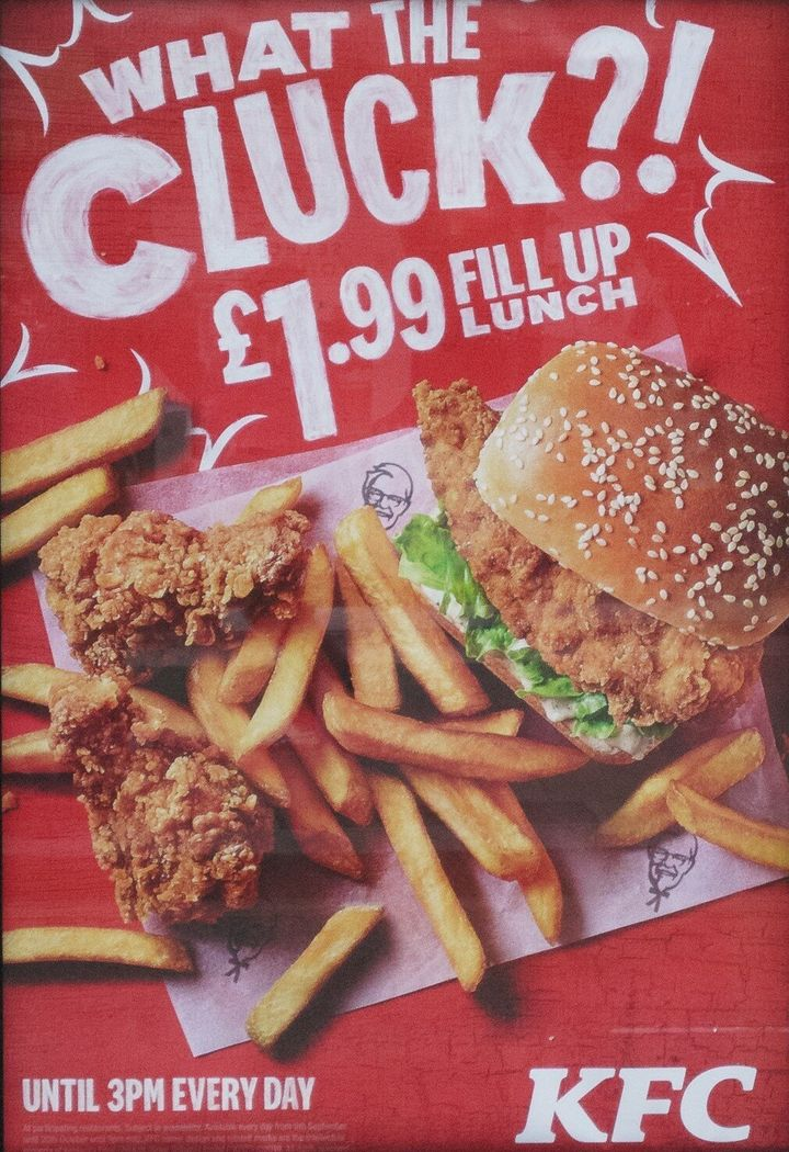 This KFC advert has now been banned.