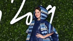 Shailene Woodley Wore An Outrageous, Oversize Sleeping Bag On The Red