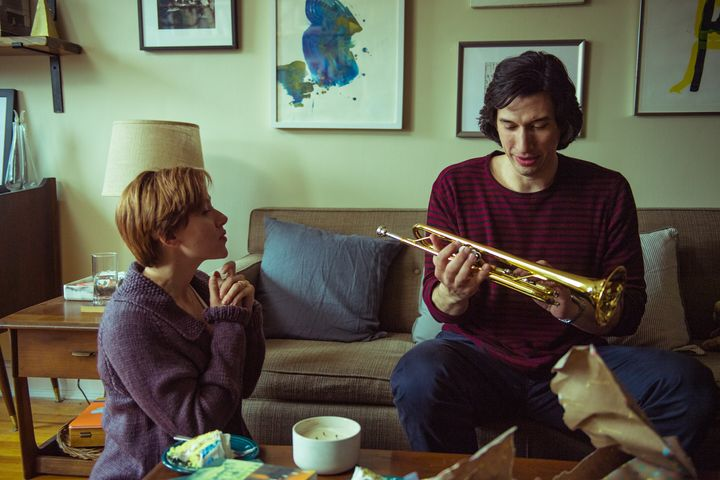 "Scarlett Johansson and Adam Driver in ""Marriage Story"""